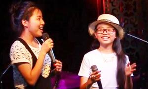 Video: Chị gái Phương Mỹ Chi đọc rap 'Tình yêu màu nắng'