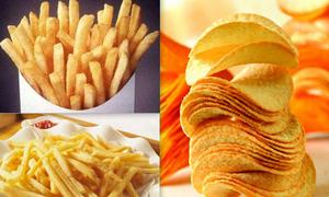 Tips: 3 cách chiên khoai tây giòn tan