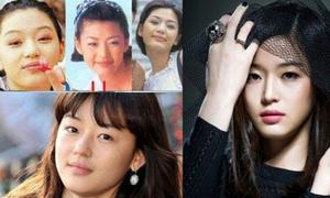 Khuôn mặt mỹ nhân Hàn biến đổi so với thời thiếu nữ