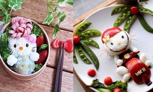 25 đồ ăn siêu dễ thương cho tín đồ Hello Kitty