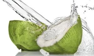 Giảm cân ngày hè với nước dừa mát lạnh