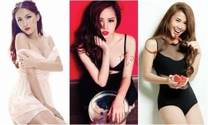 Dàn hot girls Việt lột xác với hình tượng sexy
