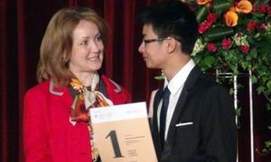 3 học sinh Việt Nam giành HCV Olympic tiếng Nga quốc tế