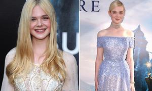 Phong cách xinh yêu đúng chuẩn công chúa của 'mắt cười' Elle Fanning