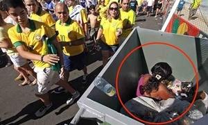 Bức ảnh làm dấy lên làn sóng căm ghét World Cup