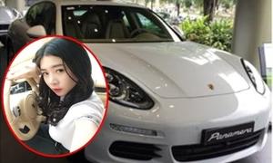 Hot girl 'Anh không đòi quà' được mẹ tặng xế hộp 4,5 tỷ đồng