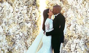 Kim Kardashian mất 4 ngày photoshop ảnh cưới