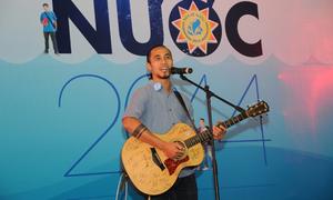 Ca sĩ Anh Khoa kêu gọi tiết kiệm nước