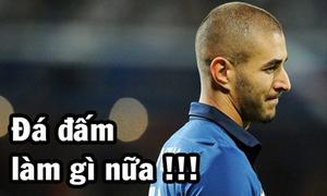 Bezema không muốn thi đấu trong trận Pháp - Thụy Sĩ