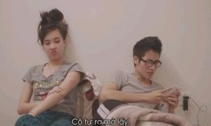 JV- Mie Nguyễn tung video hài kỷ niệm một năm hẹn hò
