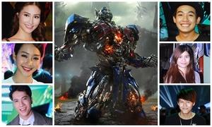 Phở, Khả Ngân, Diễm My chấm điểm Transformers 4