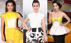 Loạt váy đẹp long lanh ra mắt Transformers 4 của Lý Băng Băng