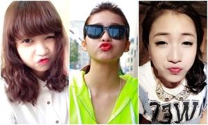 1.001 kiểu tự sướng khoe môi xinh của hot girls Việt