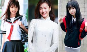 Nét đặc trưng trong đồng phục nữ sinh ở 6 nước châu Á