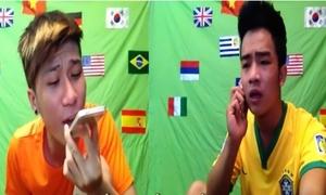 Video chế hit Sơn Tùng, khuyên xem World Cup văn minh