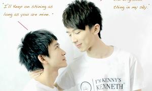 Cặp mỹ nam đồng tính nổi tiếng nhất Trung Quốc