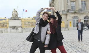 Top 3 Project Runway hào hứng tham quan Paris
