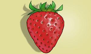 8 cách vẽ quả dâu tây ngon lành
