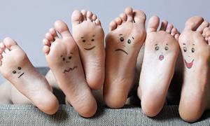 Đoán tính cách của các chàng trai qua ngón chân