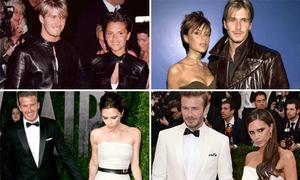 Khoảnh khắc thời trang đáng nhớ trong 15 năm hạnh phúc của Vic-Beck