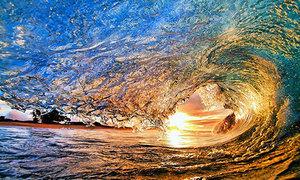 Khoảnh khắc đẹp về sóng khiến bạn muốn lao ngay ra biển