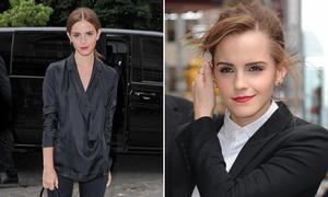 Mặc kín mít vẫn đẹp đẳng cấp như Emma Watson