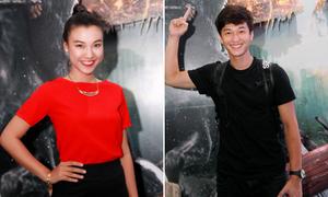 Huỳnh Anh, Hoàng Oanh tách riêng chụp ảnh tránh bị soi