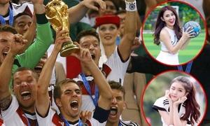 Ngọc Thảo, Lilly Luta nức lòng vì Đức vô địch World Cup