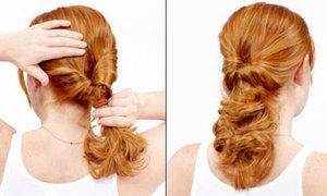 Nữ tính với 2 cách vặn tóc đơn giản