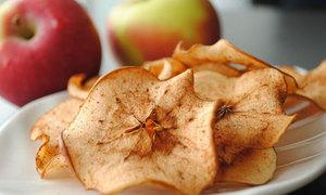 Snack táo giòn ngọt nhai rau ráu