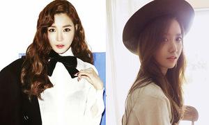 Tiffany cực 'men', YoonA hiền dịu đối lập trên tạp chí