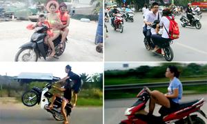 Dáng lái xe 'bá đạo' chỉ có ở Việt Nam