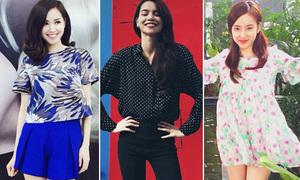 Style dạo phố xinh lung linh của sao, hot girl Việt tuần qua