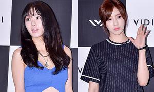 Seo Woo mặt cứng đơ, Eun Jung nhợt nhạt dự sự kiện