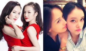 Những cô em gái là đối thủ nhan sắc của sao Việt