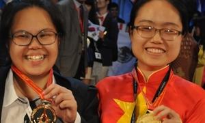 Nữ sinh trường Ams đạt điểm cao nhất Olympic Hóa quốc tế