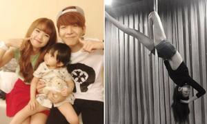 Facebook sao 30/7: Khởi My - Kelvin Khánh khoe 'con gái', Hoàng Thùy múa cột cực siêu