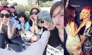 Sao Hàn 1/8: T-ara tụ tập đi chơi dã ngoại, Min - Fei (Miss A) 'sàm sỡ' nhau