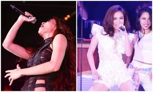 Hà Hồ, Hoàng Thùy Linh thăng hoa cùng hàng nghìn khán giả