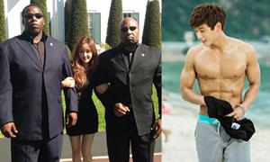 Sao Hàn 2/8: Hyo Min khoác tay hai chàng lực lưỡng, Jin Woon khoe body tuyệt đẹp