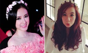 Hot girl Việt xinh như công chúa với bờm hoa