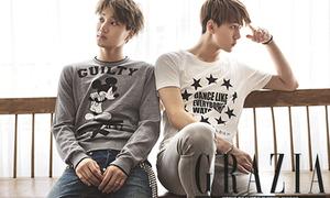 Kai, Sehun khoe vẻ đẹp trai trên tạp chí