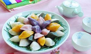 Làm bánh trung thu Hàn Quốc siêu hấp dẫn
