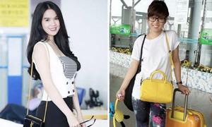 Facebook sao 7/8: Hoàng Yến bị lộ dùng app kéo chân, Ngọc Trinh hé lý do hay đi giày cao gót