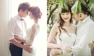 Ảnh cưới đẹp như mơ của 3 cặp hot teen Việt