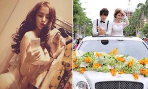 Facebook sao 8/8: Phương Trinh tự nhận đẹp không ai bằng, Quỳnh Anh Shyn đám cưới trên siêu xe
