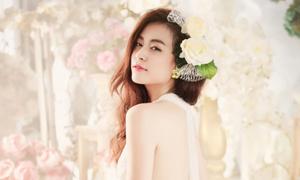 Hoàng Thùy Linh thôi sexy để hóa công chúa hoa