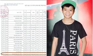 Quang Anh trúng tuyển Học viện Âm nhạc Quốc gia