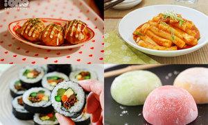 Các món vặt Thái, Hàn, Nhật tuyệt ngon khiến teen chết mê