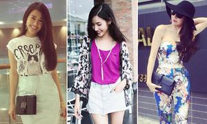 Style dạo phố sành không kém fashionista của sao Việt tuần qua